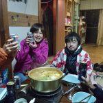 「豆ハウス」で初!鍋会。